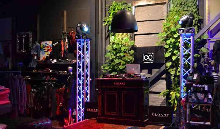 Espace DJ Inauguration Cloane