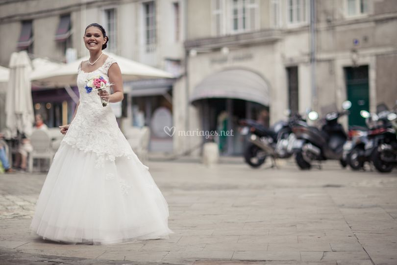 Mariée à La Rochelle