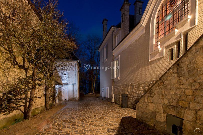 Ruelle derrière le château