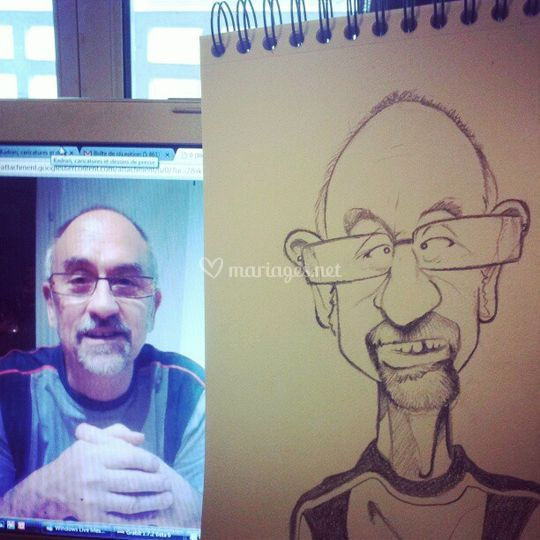Caricature traditionnelle