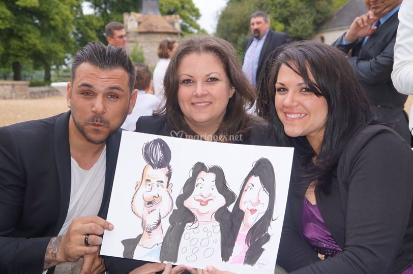 Mariage en caricature