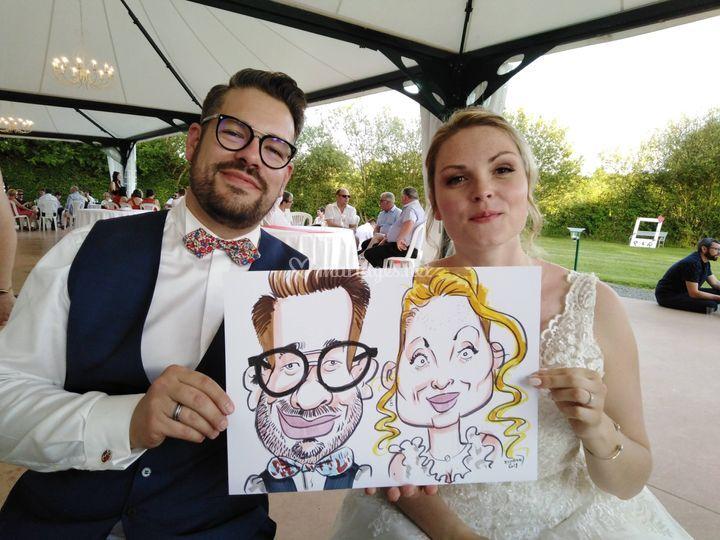 Kadran - caricatures et illustrations