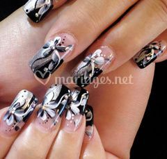 Nail art relief