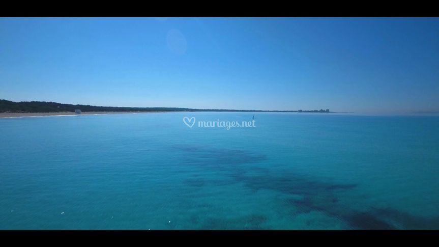 Image drone Saint Tropez
