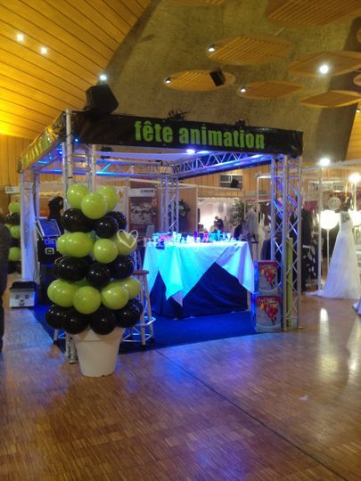 F te animation for Animation stand salon