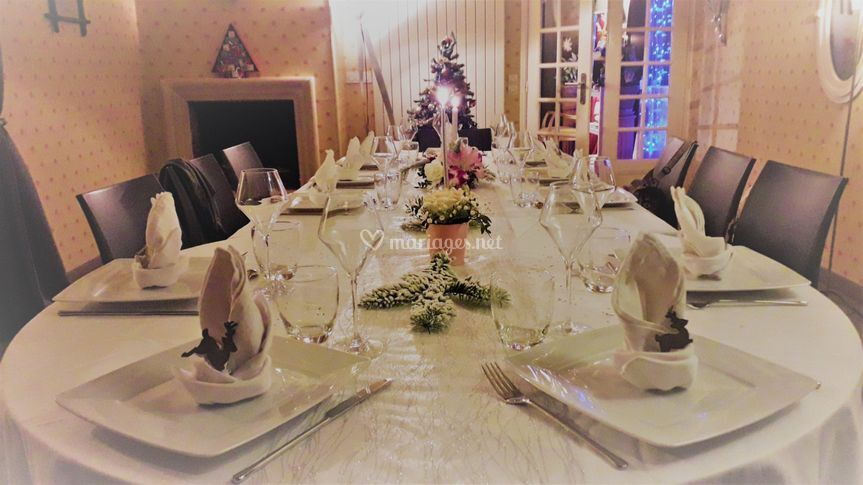 Réception Noël