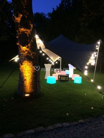 Mariage coin lounge
