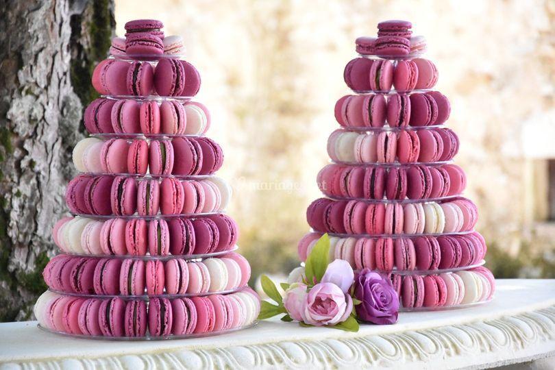 Pièces Montées Macarons