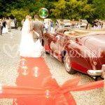 Le départ des mariés