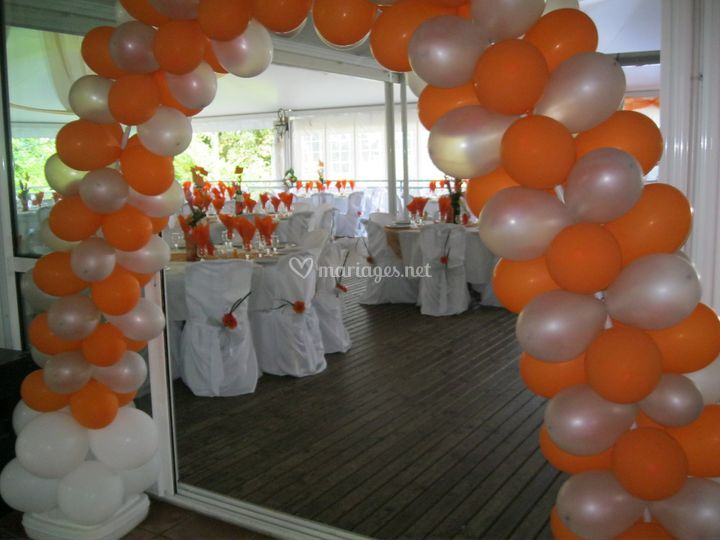 Decoration avec ballon