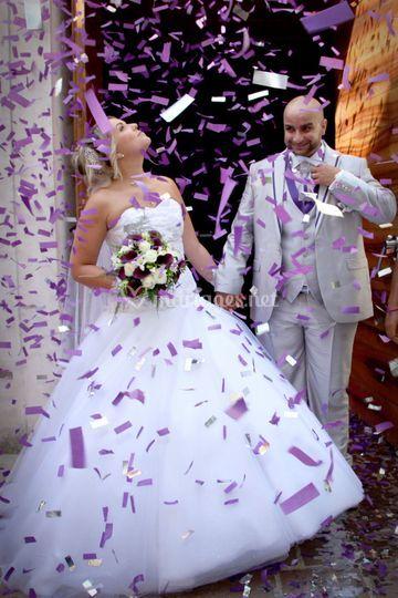 Mariage Mr et Mme D