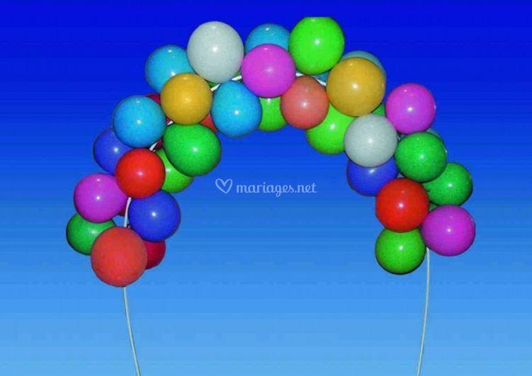 Arche à ballons ou à Guirlande