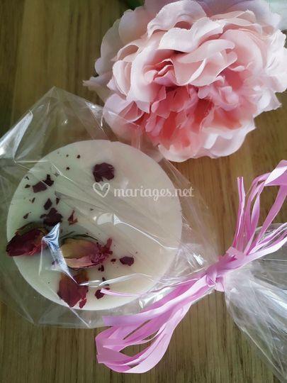 Palet bouton de rose séchées