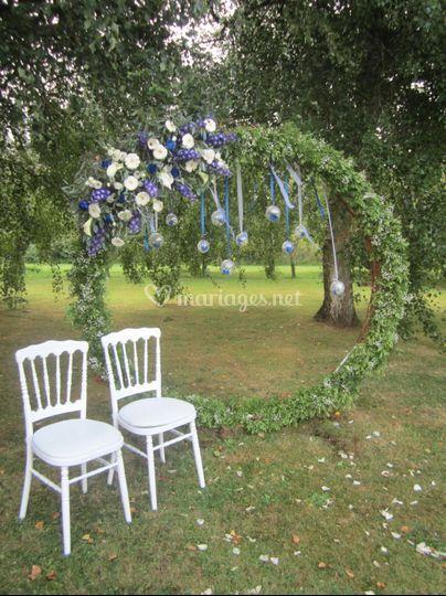 Place d'honneur des mariés