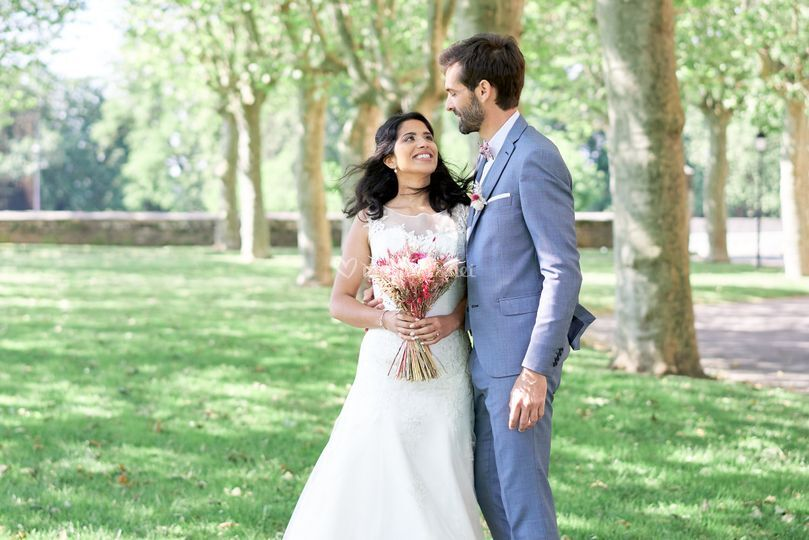 Couple first look