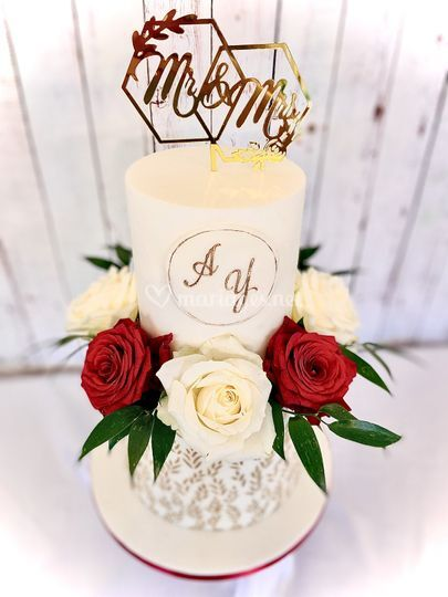 Wedding Cake chic et élégant