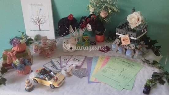 Table a cadeaux
