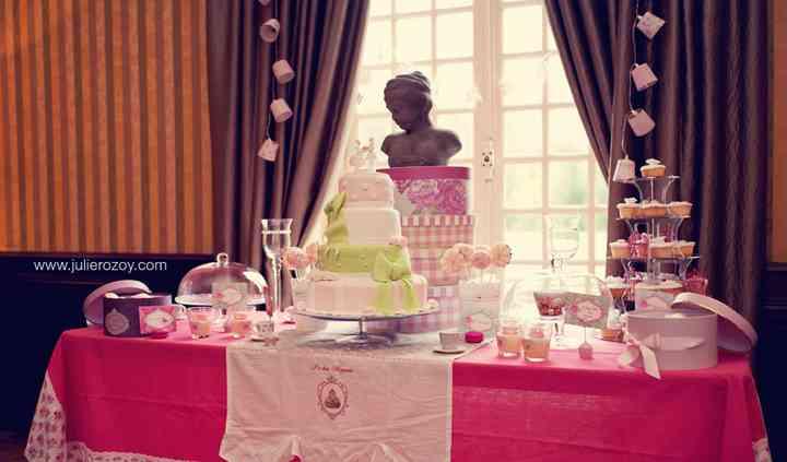 Sweet table, table à dessert