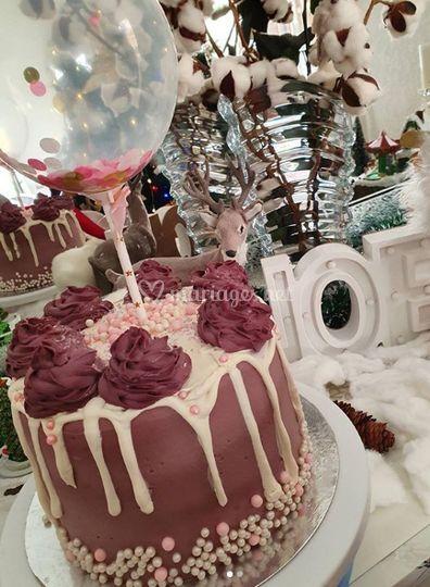 cake oréo et crème chocolat