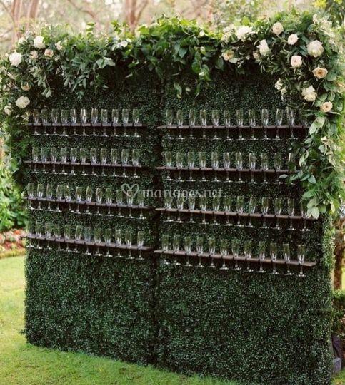 Mur à Champagne