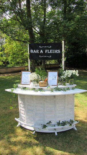 Bar à fleurs animation