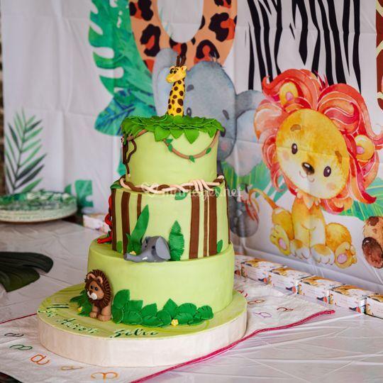 """Gâteau """"Jungle"""""""