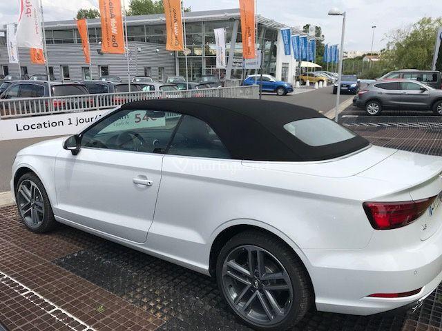 Modèle Audi A3 cabriolet