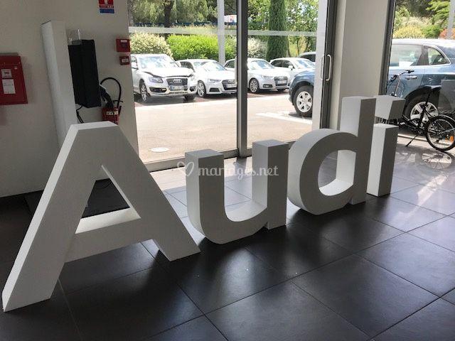 Bienvenue chez Audi