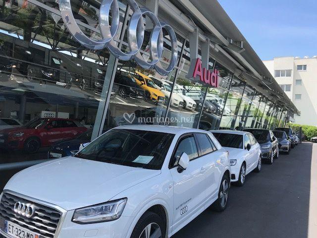 Le parc Audi Rent Montpellier