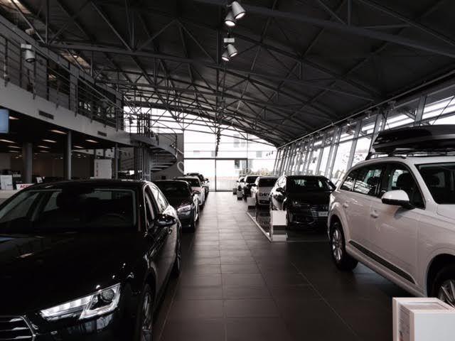 Hall d'accueil Audi