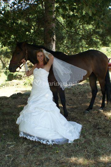Robe de mariée ivoire 2011