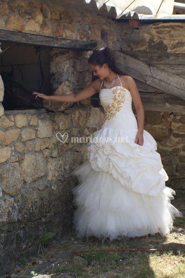 Robe de mariée tulle 2011