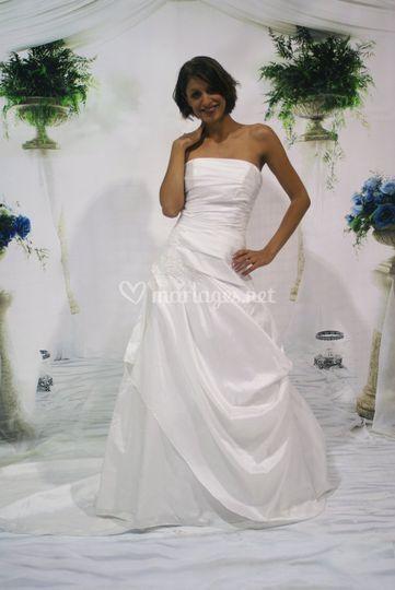 Robe de mariée taffetas 2017