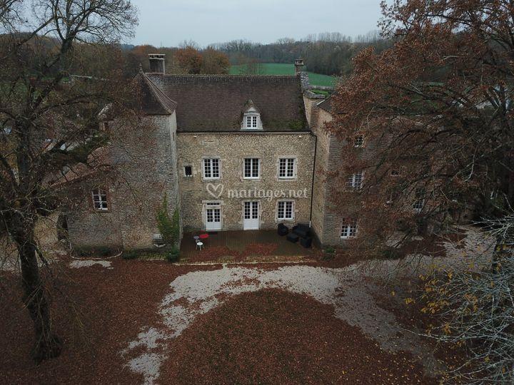 La façade en automne