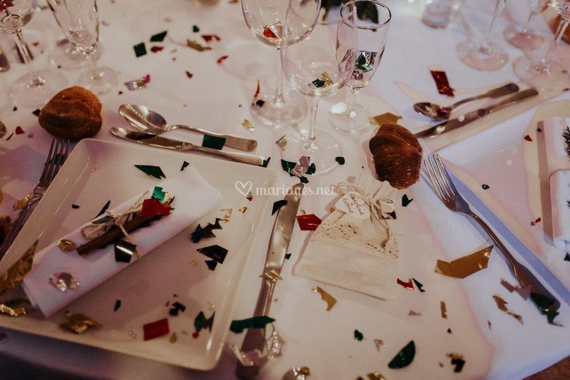 Le dressage des tables