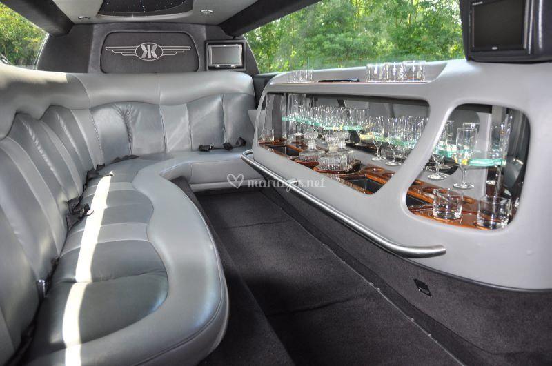 Chrysler limousine intérieur