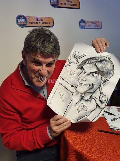 La caricature de Tex