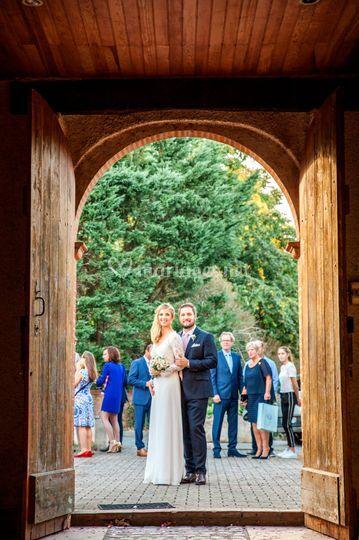 La cérémonie de mariage à l'église