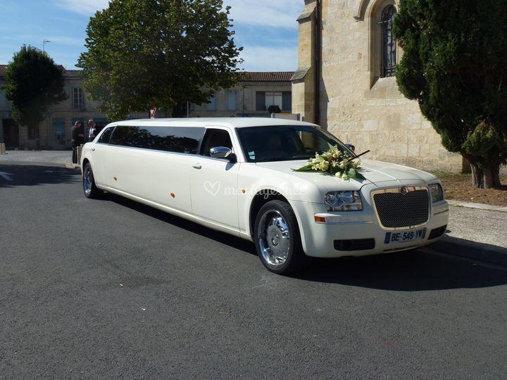 Limousine des mariés