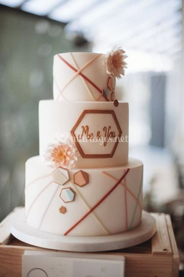 Cake A P'Art - Wedding Cake
