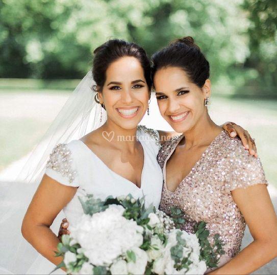 Brides in Paris by Andreé-Line