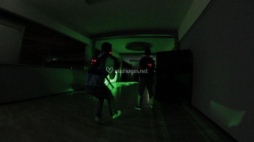 Laser mobile