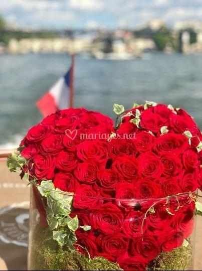 Demande en mariage bateau KIM