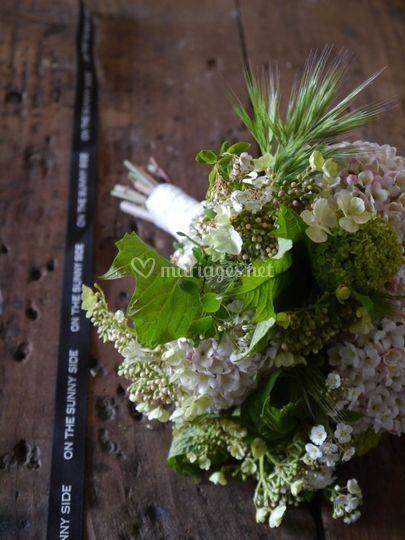 Bouquet blanc vert