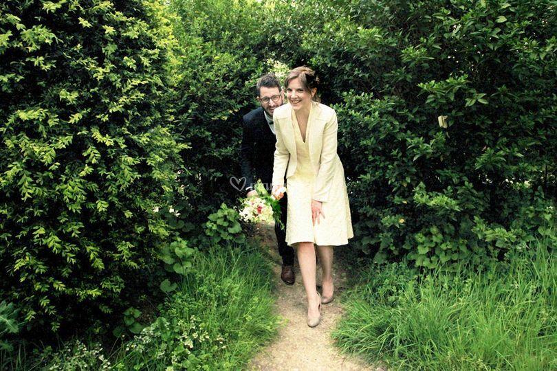 Dans les jardins de Corot