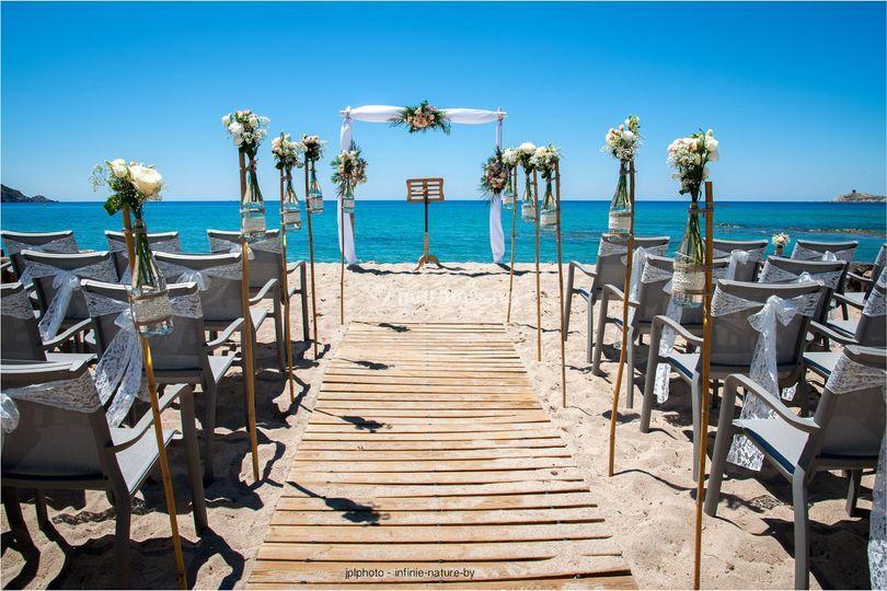 Réception à la plage