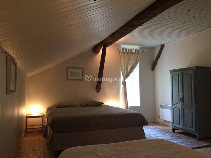 Une chambre du cottage