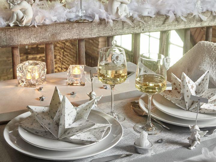 Table givrée