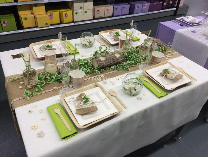 Montage de table