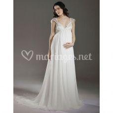 Robe de mariée Amandine pour future maman